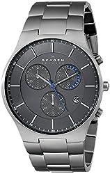"Skagen Men's SKW6077 ""Balder"" Titanium Watch with Link Bracelet"