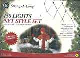 GE String-A-Long 150 Clear Lights NET STYLE SET 6FT X 4FT (Indoor/Outdoor)