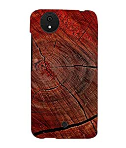printtech Wood Block Design Back Case Cover for Micromax Android A1::Micromax Canvas A1 AQ4502