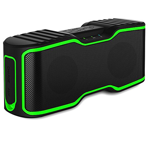 IPX7 Waterproof Bluetooth Speaker, URPOWER Portable Bluetooth Speakers Outdoor Speakers Wireless Speakers with 10W Enhanced Bass, NFC Tech for iPhone iPad iPod Samsung and More