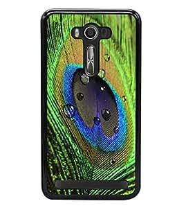 printtech Peacock Bird Feather Colorful Back Case Cover for Asus Zenfone Selfie , Asus Zenfone Selfie ZD551KL