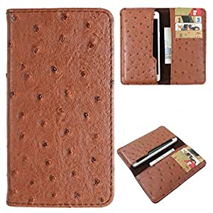For Lava Flair S1 - DooDa Quality PU Leather Wallet Case Cover, Pouch With Card Slots & Smooth Innner Velvet