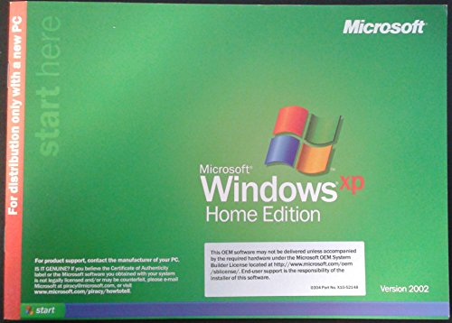 Microsoft Windows XP Home Edition OEM (Ms Windows Xp compare prices)