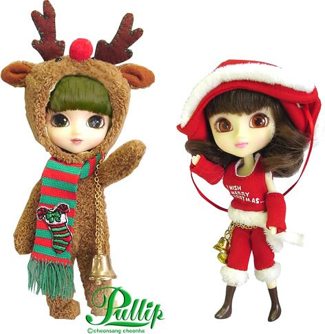 Little Pullip Carol & Rudolph Christmas Dolls - Buy Little Pullip Carol & Rudolph Christmas Dolls - Purchase Little Pullip Carol & Rudolph Christmas Dolls (Little Pullip, Toys & Games,Categories,Action Figures,Statues Maquettes & Busts)