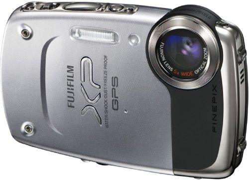 Fujifilm FinePix XP30 Digital Camera - Silver (14MP, 5x Optical Zoom) 2.7 inch LCD