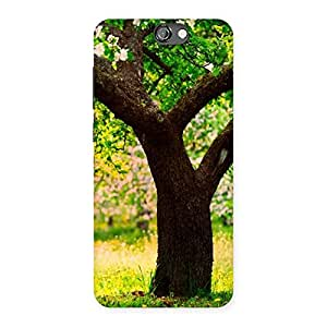 Green New Tree Back Case Cover for HTC One A9