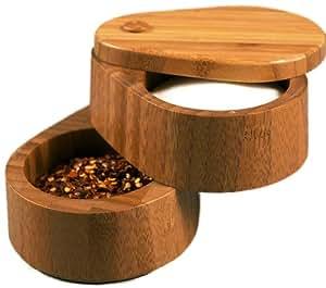 Totally Bamboo Double Salt Box