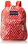 "JanSport Superbreak Backpack - Coral Peaches Wild At Heart / 16.7""H x 13""W x 8.5""D"