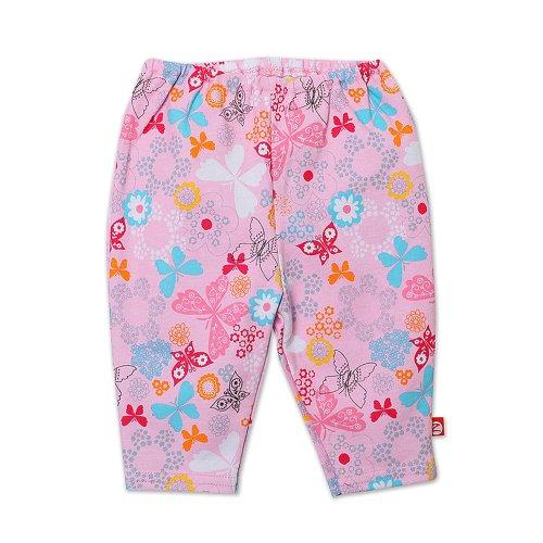 Zutano Baby-Girls Newborn Summer Dream Legging, Blush, 3 Months front-879031