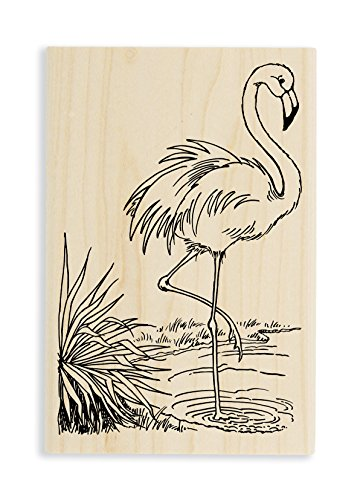 Stampendous Heron Rubber Stamp