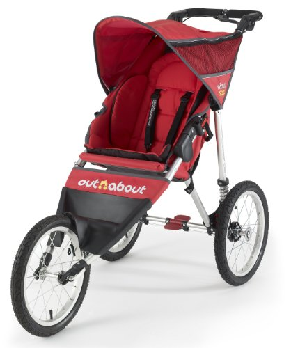 Outnabout Nipper Sport Stroller Red