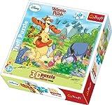 Trefl Dynamic 3D Jigsaw Butterflyes Hunting Disney Winnie The Pooh (120 Pieces)