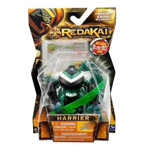 Redakai - Basic Figure with Card - Harrier Sword - 1
