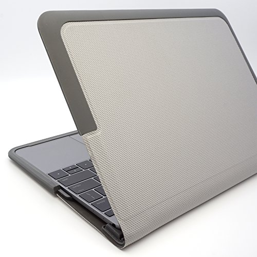 Gumdrop SoftShell Microsolution adjustment product (MacBook 12-inch, Gray)