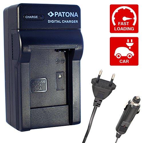 3in1 Ladegerät kompatibel mit EA-BP70A EA-BPP70A für Samsung Digimax AQ100 DV150F ES65 ES67 ES70 ES71 ES73 ES74 ES75 ES78 ES80 ES81 ES90 ES91 PL20 PL21 PL80 PL81 PL90 PL91 PL100 PL101 PL121 PL170 PL171 PL200 PL201 SL50 SL600 SL605 ST30