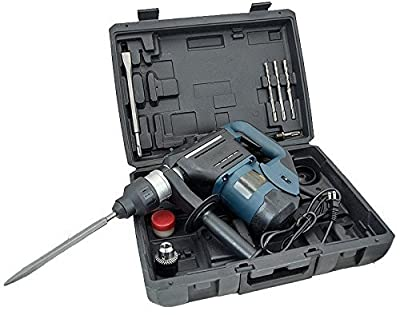 "New 1-1/2"" SDS Rotary Hammer Drill Kit Concrete Demolition Tool 1.5"" w/ Bits & Case"