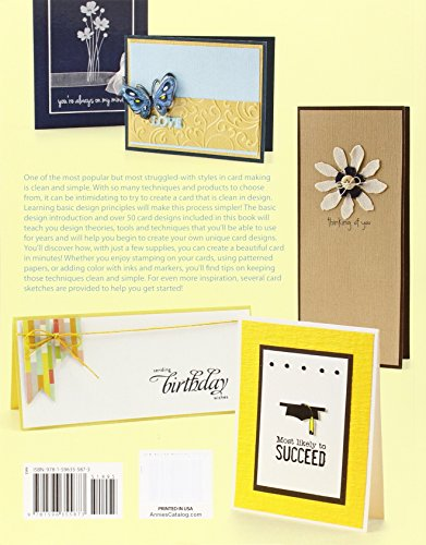 Clean simple cards quick easy projects that celebrate for Minimalist architecture theory