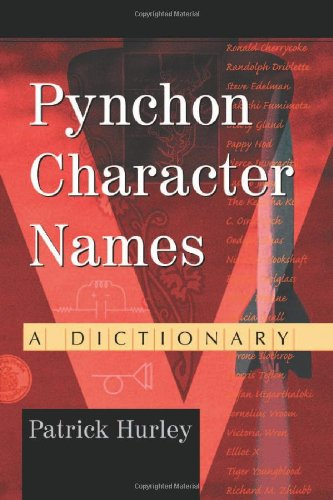 Pynchon Character Names: A Dictionary front-796107