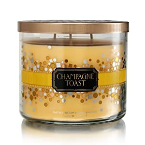 Bath Body Works Champagne Toast 3-Wick Scented Candle