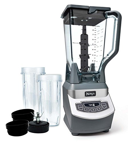 Ninja Professional 1000 Watt Blender w/Nurti Cups, BL661 (Certified Refurbished) (Ninja Blender 1000 compare prices)