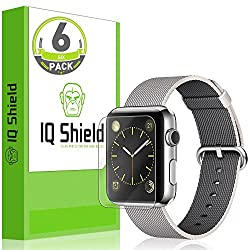 IQ Shield LiQuidSkin High Definition Apple Watch 42mm Screen Protector (Pack of 6)