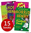 The Complete Horrid Henry Collection - 15 Books