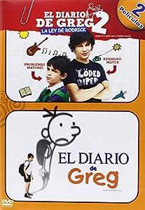 Diario De Greg 1 Diario De Greg 2 Dvd