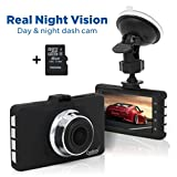 Conbrov®Dc6000 Real Night Vision Dash Cam 1080p Starlight Car Video Camera Dashboard Recorder