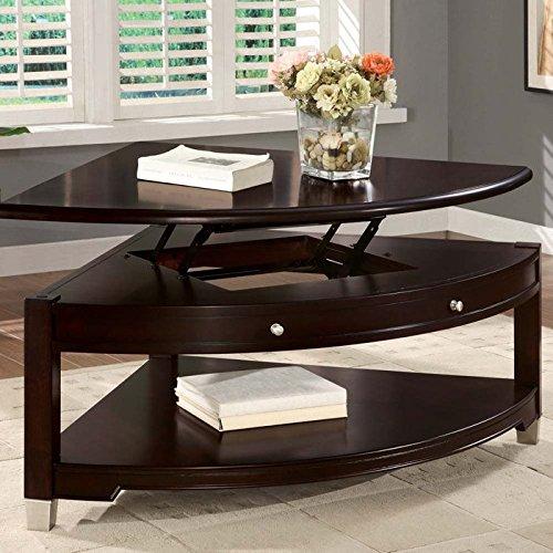 Coaster Home Furnishings 701196 Casual Coffee Table, Walnut