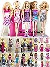 Lot of 5 Barbie Dresses Clothes, Hand…