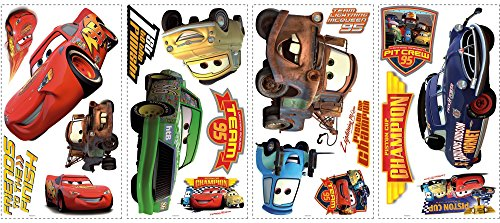roommates-539035-moderne-sticker-multi-elements-repostionnable-disney-cars-1-piston-cup-vinyle-adhes