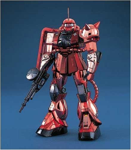 Gundam MG MS-06S Char's Zaku II (Coating Version) 1/100 Model Kit