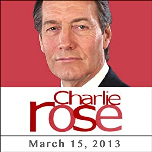 Charlie Rose: Frank Bruni, Daniel Wakin, Lorenzo Albacete, Alan Krueger, Walter Mossberg, and Pierfrancesco Favino, March 15, 2013 Radio/TV Program