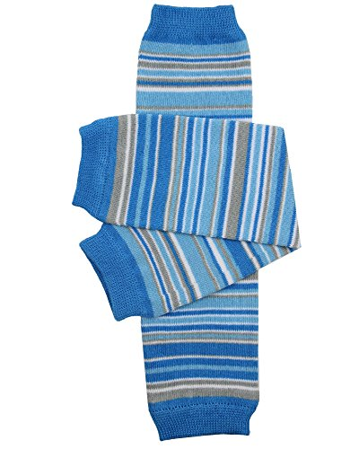 JuDanzy baby boy and toddler leg warmers (Blue Charm)