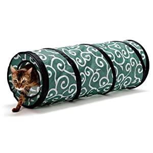Ninja Cat Tunnel (green)