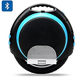 Electric Unicycle 'Uni-Wheel XR-6' - Samsung Lithium Battery, Up To 18km/h, Bluetooth Speaker, 2x USB Outputs For Mobile Phone