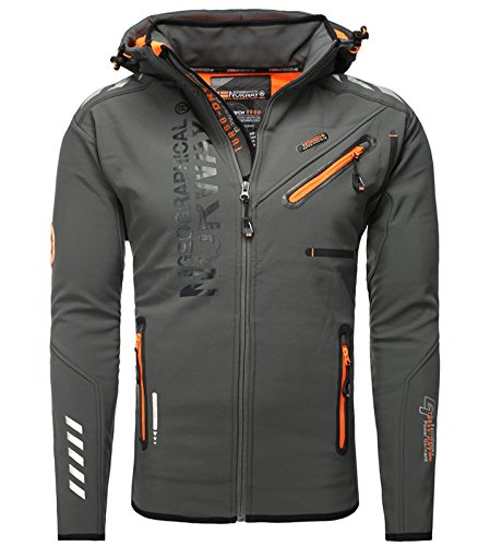 Geographical Norway -  Giacca - Uomo grigio XL