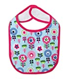 Zutano Baby-girls Infant Dizzy Daisy Bib