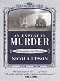 img - for An Expert in Murder: A New Mystery Featuring Josephine Tey (Thorndike Reviewers' Choice) book / textbook / text book