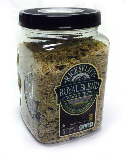 Rice Select Royal Blend Whole Grain Texmati Brown and Wild Rice 46oz.