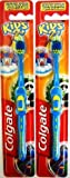 2x COLGATE KIDS 2+ TOOTH BRUSHES