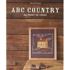 ABC country au point de croix