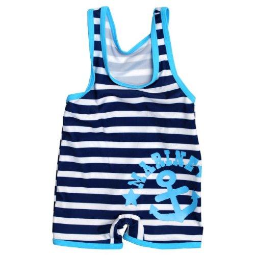 Natación trajes de baño bebé niños patrón Marina スイムグレコ estiramiento mar pantalones bebé swimwear Marina 80 cm
