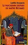 echange, troc Laetitia Bourgeois - Le parchemin disparu de maître Richard