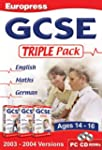 GCSE English Maths German Triple Pack