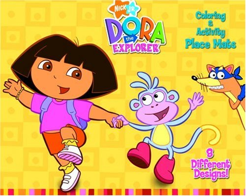 Dora C & A Place Mats (Dora the Explorer) (Place Mats to Color)