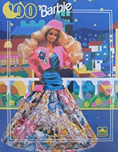Barbie 100 Piece Puzzle (1991 Golden)
