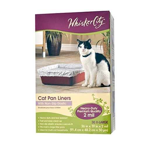 Whisker City X Large Cat Pan Liner by Whisker City (Whisker City Cat Pan Liners compare prices)