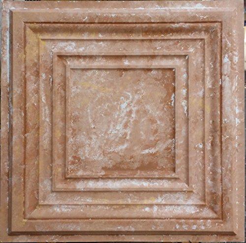 PL05en plusieurs finitions disponibles: plafond Carreaux Marron Effet vieilli Blanc Panneaux muraux Art Décoration Fond Photographie 10pieces/Lot