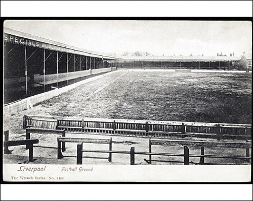 Photographic Print of 1903-06 Anfield looking towards Anfield Road from Liverpool FC Pictures